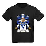 Cavalier Family Crest  Kids Dark T-Shirt
