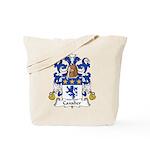 Cavalier Family Crest  Tote Bag