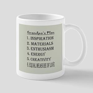 Grandpa's Plan Mug Mugs