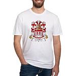 Castillon Family Crest Fitted T-Shirt