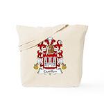 Castillon Family Crest Tote Bag