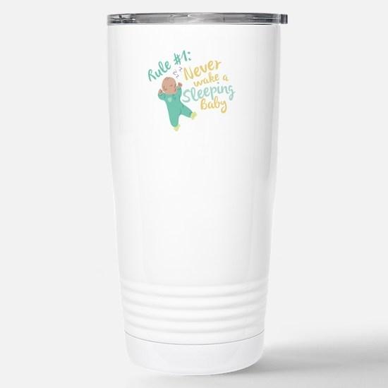 Never Wake Baby Travel Mug