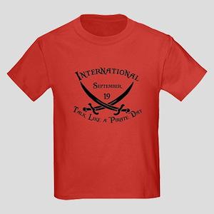 International Talk Like Kids Dark T-Shirt
