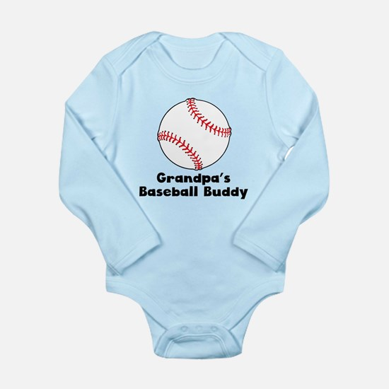 Grandpas Baseball Buddy Body Suit