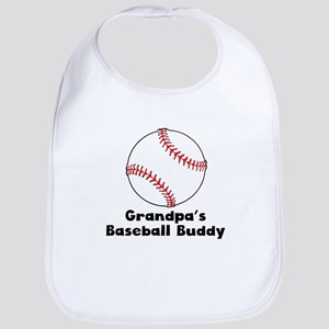Grandpas Baseball Buddy Bib
