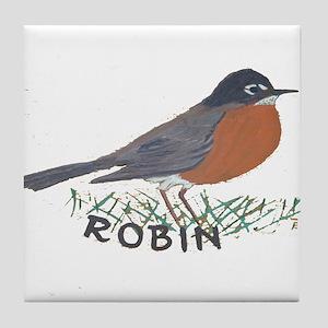 Robin Tile Coaster