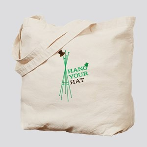 Hang Your Hat Tote Bag