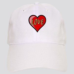 Awesome Love Heart Cap