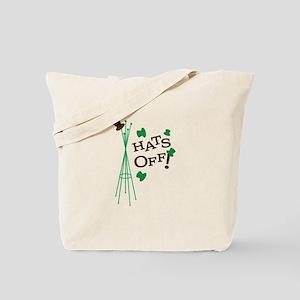 Hats Off Tote Bag