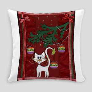 Handmade Kitty Jingle Christmas Card Everyday Pill