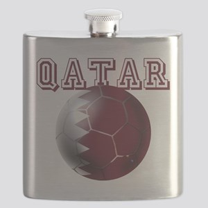 Qatar Football Flask