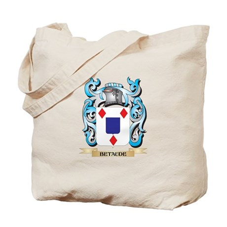 Betaude Coat of Arms - Family Crest Tote Bag