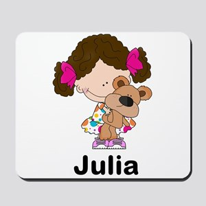 My Girl Personalized Mousepad