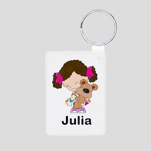 My Girl Personalized Aluminum Photo Keychain