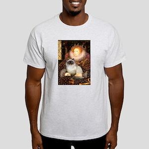 Queen & Himalayan cat Light T-Shirt