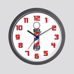 Barber Pole Wall Clock