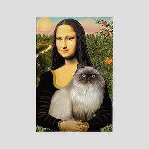 Mona's Himalayan Cat Rectangle Magnet