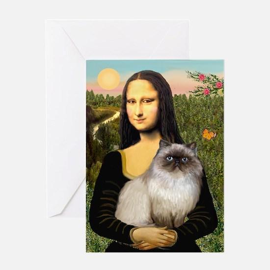 Mona's Himalayan Cat Greeting Card