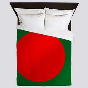 Flag of Bangladesh Queen Duvet