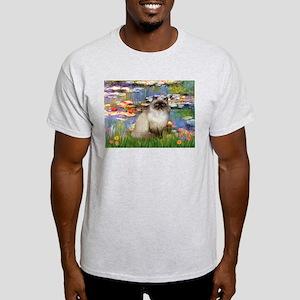 Lilies & Himalayan cat Light T-Shirt