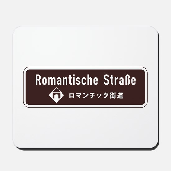 Romantische Strasse, South Germany Mousepad