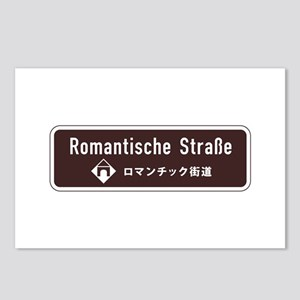 Romantische Strasse, Sout Postcards (Package of 8)