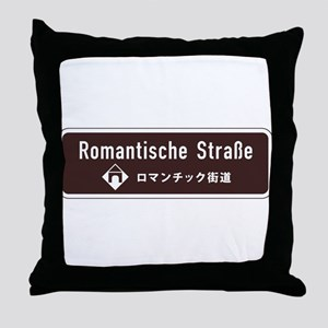 Romantische Strasse, South Germany Throw Pillow