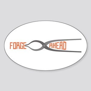 Forge Ahead Sticker