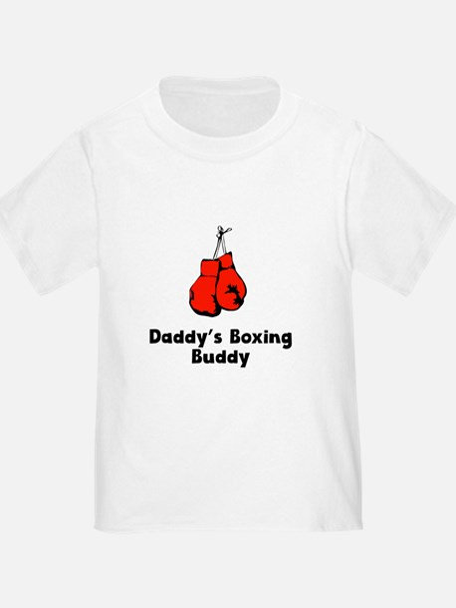 Daddys Boxing Buddy T-Shirt