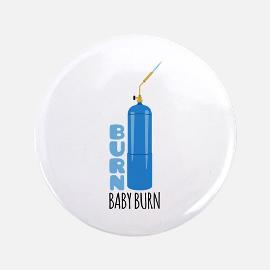 "Burn Baby 3.5"" Button (100 pack)"