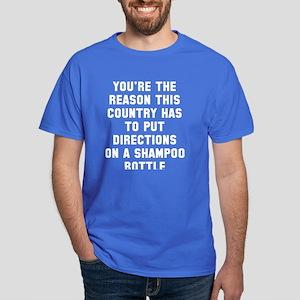 Directions Shampoo Dark T-Shirt