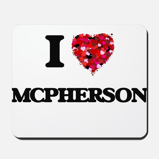 I Love Mcpherson Mousepad