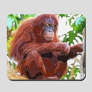 Painted Orang Mousepad