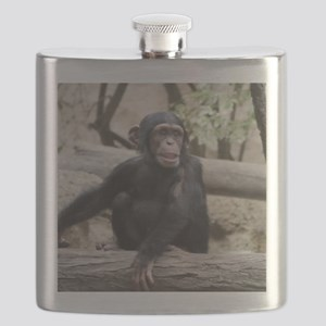 Young Chimp 02 Flask