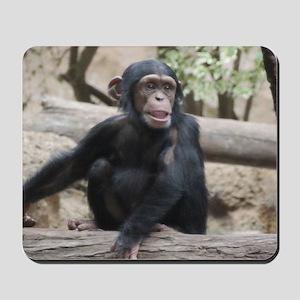 Young Chimp 02 Mousepad