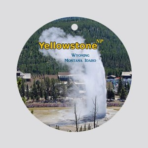 Yellowstone Ornament (Round)