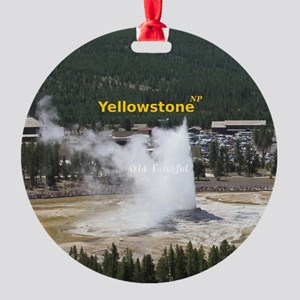 Yellowstone Round Ornament