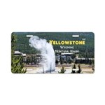 Yellowstone Aluminum License Plate
