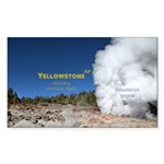 Yellowstone Sticker (Rectangle 50 pk)