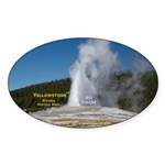 Yellowstone Sticker (Oval 10 pk)