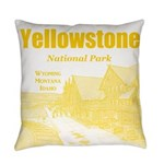 Yellowstone Everyday Pillow