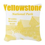 Yellowstone Woven Throw Pillow