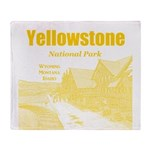 Yellowstone Throw Blanket