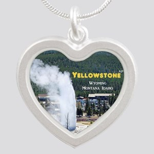 Yellowstone Silver Heart Necklace