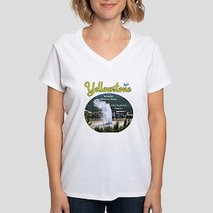Yellowstone Women's V-Neck T-Shirt