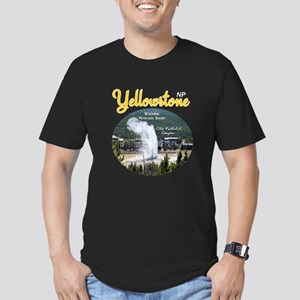 Yellowstone Men's Fitted T-Shirt (dark)
