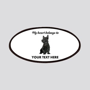 Personalized Scottish Terrier Patch