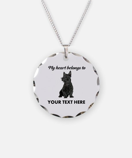 Personalized Scottish Terrie Necklace