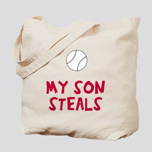 My son / daughter steals Tote Bag