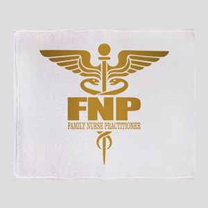 FNP (gold) Throw Blanket